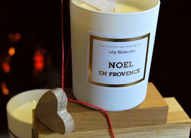 Candles - BOUGIE NOEL EN PROVENCE - LILY BLANCHE