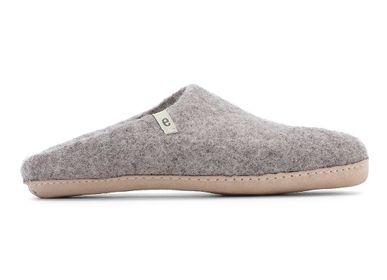 Chaussures - Pantoufles — Commerce équitable — Fait main en laine — Design danois — Fabriqué au Népal - EGOS COPENHAGEN