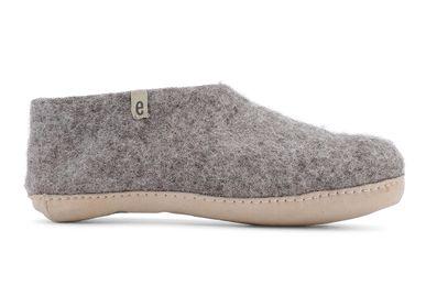 Chaussures - Pantoufles en laine — Commerce équitable — Fait main — Design danois — Fabriqué au Népal - EGOS COPENHAGEN
