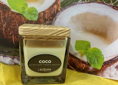 Candles - BOUGIES PARFUMEES CIRE 100 % VEGETALE DE SOJA  - L'ECHOPPE BUISSONNIERE