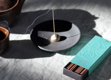 Design objects - Black Stoneware Incense & Smudging Dish  - UME