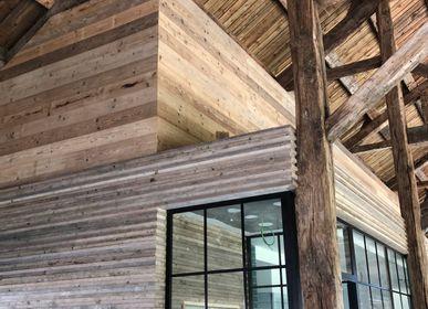 Wall panels - Scaffolding Wood - ATMOSPHÈRE ET BOIS