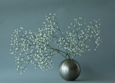 Vases - TAMA brass flower vase L - NOUSAKU