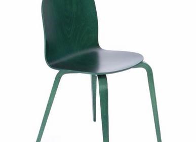 Chaises - La Chaise CL10B verte - LA CHAISE FRANÇAISE