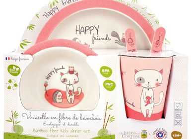 Children's mealtime - Bamboo fibre baby and child tableware - LES JARDINS DE LA COMTESSE