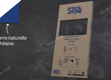 Crédence - Stick&Stone Londres - boîte de 10 feuilles  - STONELEAF