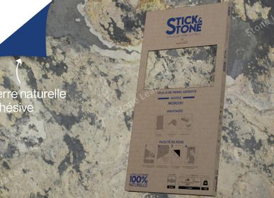 Kitchen splash backs - Stick&Stone Moscou - pack of 10 sheets - STONELEAF