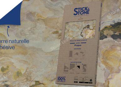 Crédence - Stick&Stone Prague - boîte de 10 feuilles - STONELEAF