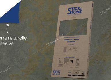 Crédence - Stick&Stone Montréal - boîte de 10 feuilles - STONELEAF