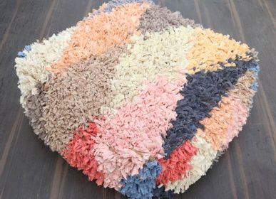 Cushions - Boucherouite Floor Cushion - MEEM RUGS