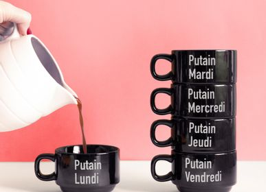 Mugs - Putain la semaine SET 5 MUGS  - FISURA