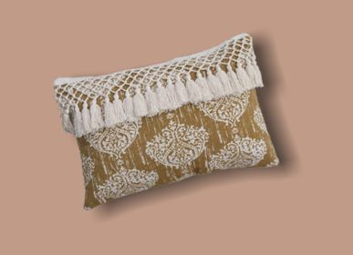 Fabric cushions - Damask Cushion Covers  - MEEM RUGS