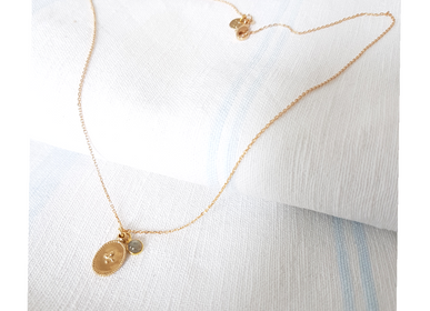Jewelry - COLLIER AGATHE ROYALE - LILY BLANCHE