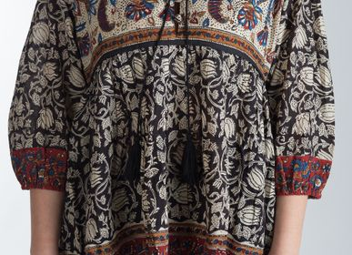 "Apparel - Blouse Blockprint ""Vintage 1970""   - PECHAAN"