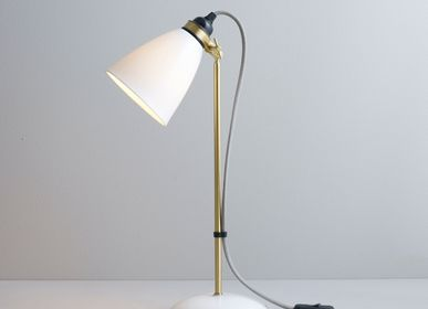 Table lamps - Hector 30 Table Light, Grey Cable - ORIGINAL BTC