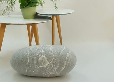 Ottomans - Felted wool floor cushion, Pierre collection - KAYU