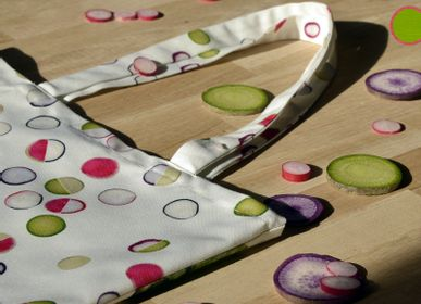 Bags and totes - Radish Graphic tote bag - MARON BOUILLIE