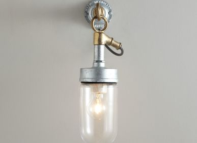 Wall lamps - Well Glass Wall Light, Clear Glass - ORIGINAL BTC