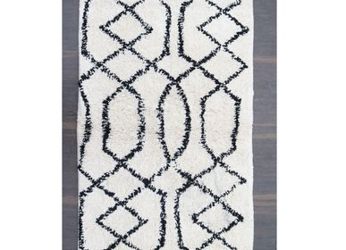 Other bath linens - Black & White Bath Rugs - MEEM RUGS