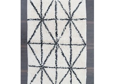 Design carpets - Black & White Bath Rugs - MEEM RUGS