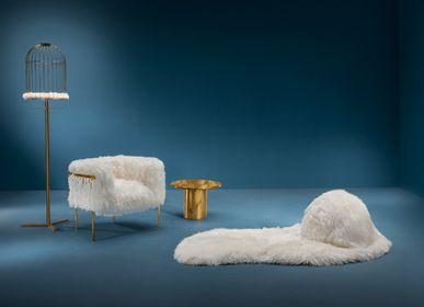Armchairs - Coronum Armchair - SCARLET SPLENDOUR
