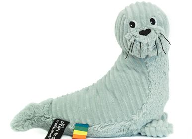 Soft toy - GLISSOU THE WHITE SEAL - LES DEGLINGOS