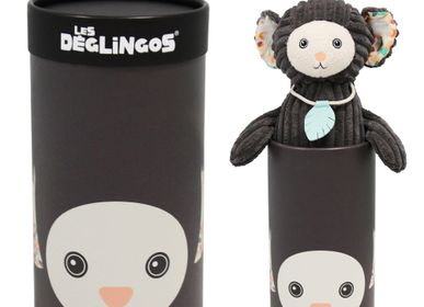 Children's bags and backpacks - Big Simply Plush Kezakos the Marmoset - LES DEGLINGOS