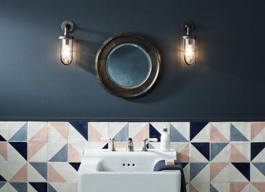Wall lamps - Ship's Well Glass Wall Light, Weathered Brass - ORIGINAL BTC
