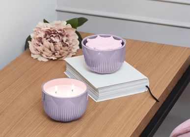 Home fragrances - Fleurs Collection - Lladró Handmade Porcelain Home Fragrances Diffuser & Candle - LLADRÓ
