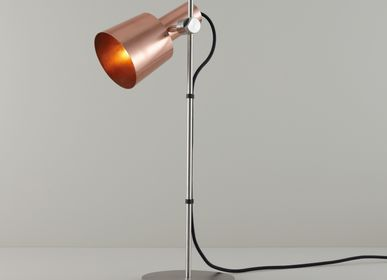 Table lamps - Chester Table Light, Satin Copper - ORIGINAL BTC