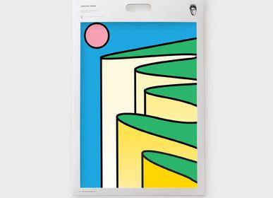 Other wall decoration - Art Print - Retro -  Benjamin Craven - SERGEANT PAPER