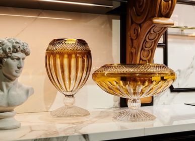 Vases - ORPHOS vase et pièce maîtresse - MARIO CIONI & C
