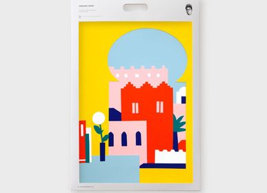 Poster - Art Print - Maroccan atmosphere with Les Canailles - SERGEANT PAPER