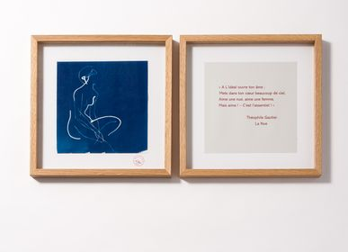 Other wall decoration - DIPTYQUE CYANOTYPE LE NUE - LILY BLANCHE