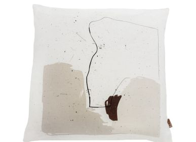 Comforters and pillows - DIGITAL PRINTED LINEN CUSHION COVER 50 x 50 cm - XERALIVING
