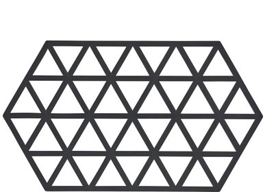 Potholders - Trivet Black Trian L24 - ZONE DENMARK