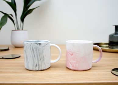 Tea and coffee accessories - Marble Effect Mugs - SUCK UK