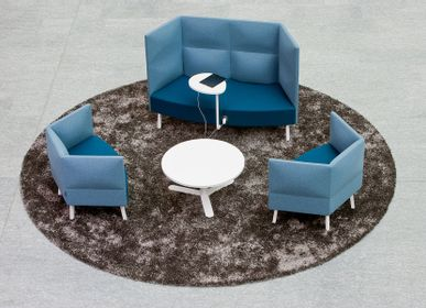 Chairs for hospitalities & contracts - CUMULUS ARMCHAIR - SEDES REGIA