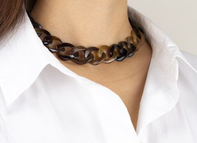 Jewelry - Horn or hoof choker necklaces - L'INDOCHINEUR PARIS HANOI