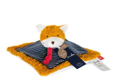 Toys - ORGANIC COTTON/Fox Doudou GM - MAILOU TRADITION - DOUDOU ET COMPAGNIE