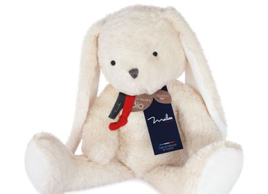 Soft toy - ORGANIC COTTON/GM rabbit doll - MAILOU TRADITION - DOUDOU ET COMPAGNIE