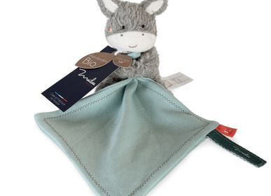Soft toy -  ORGANIC COTTON / DONKEY Doll TGM - MAILOU TRADITION - DOUDOU ET COMPAGNIE