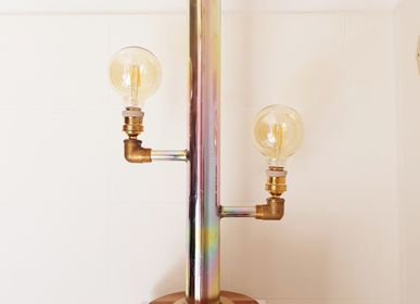 Design objects - Table lamp CACTUS GOLD - ESPRIT MATIERES