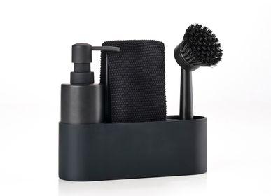 Kitchen utensils - Dishwashing set Black Singles - ZONE DENMARK