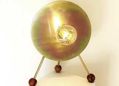 Decorative objects - Tripod lamp GALAXY - ESPRIT MATIERES