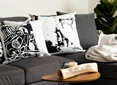 Fabric cushions - TSODILO KURU BLACK CUSHION - SOMETHING SINCERE