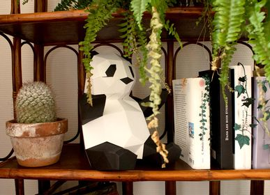 "Other wall decoration - Paper Decoration - Trophy ""Babies"" Panda - AGENT PAPER"