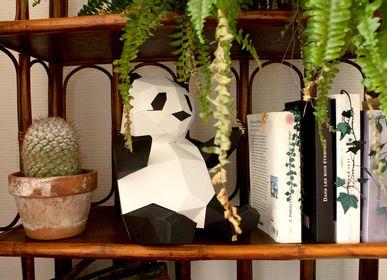"""Autres décorations murales - Décoration en papier - Trophée """"Babies"""" Panda - AGENT PAPER"""