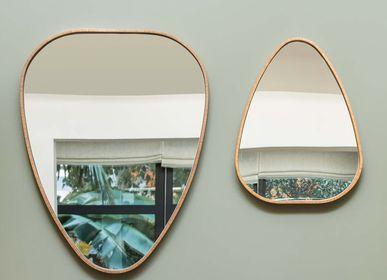 Miroirs - Miroir Kokot - Chêne fumé - Taille L - ATELIER GERMAIN