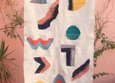 Autres décorations murales - HIEROGLYPH & SOLEIL Tapis  MOM SUSTAINABLE EDITION SLOW DESIGN - TAKECAIRE